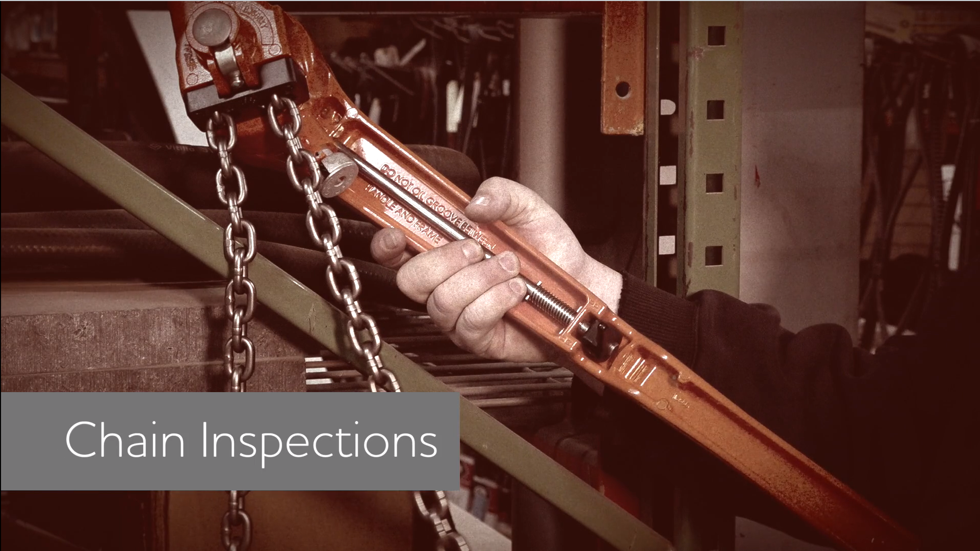 Chain Inspections