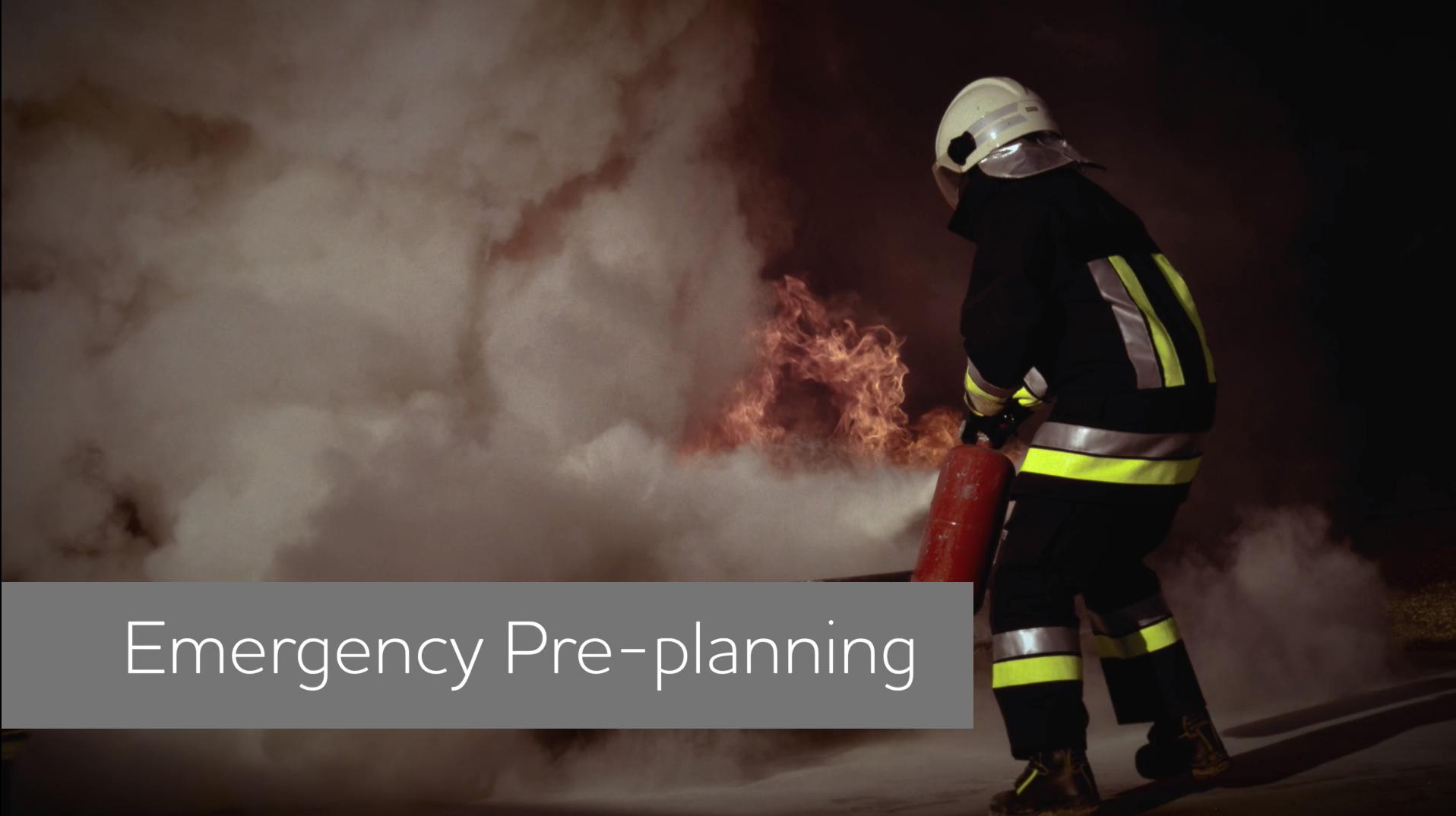 Emergency Pre Plan