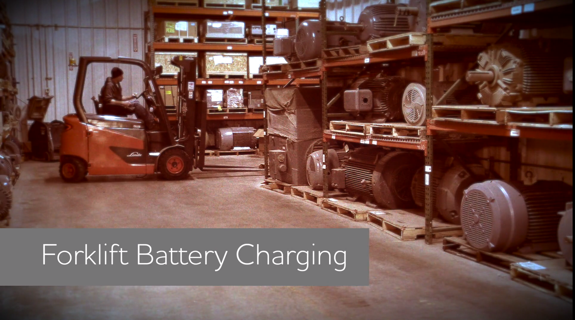Forklift Battery Charging