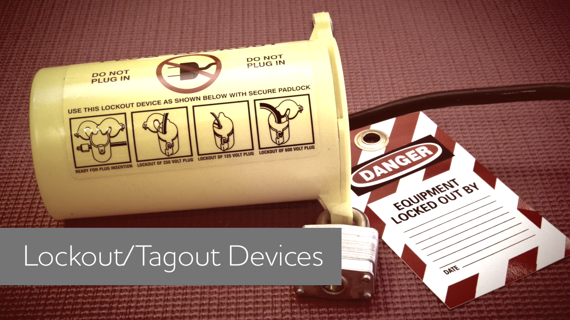 Lockout/Tagout (LOTO) Devices