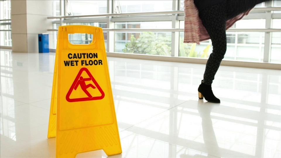 Avoiding Slipping Hazards