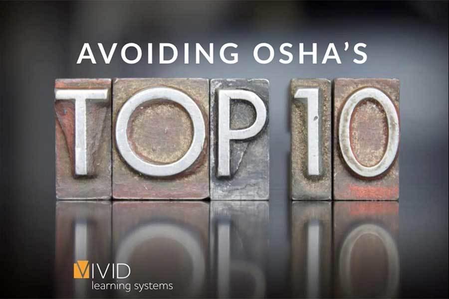 Tackle OSHA's Top 10