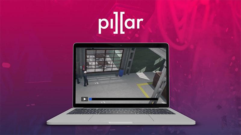 Pillar video cap