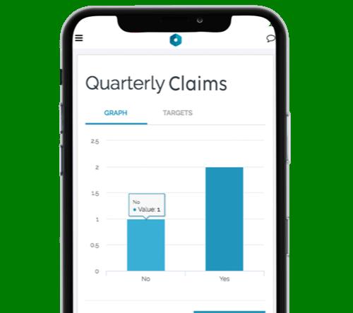 Quality management captured data