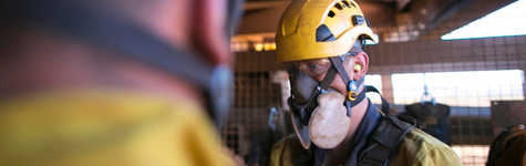 Workplace Respiratory Hazards and Protection