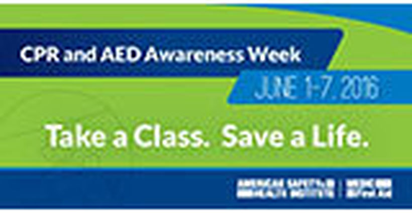 CPR and AED Awareness Week: We've Got Downloadable Resources