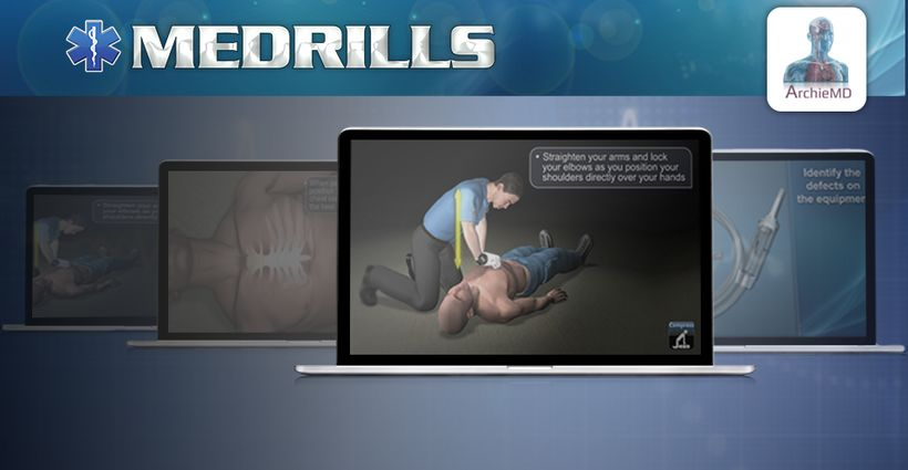 New in the 24-7 EMS Library: Medrills Animated Courses