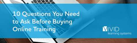 10 Questions You Need to Ask Before Buying Online Training