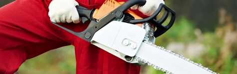 Safe Operation of Chainsaws
