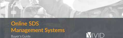 Online SDS Management Systems Buyer's Guide